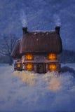 Casa de campo confortável do país Imagem de Stock Royalty Free