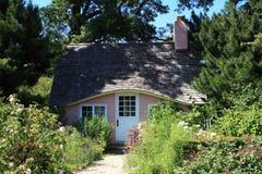 Casa de campo cor-de-rosa Imagem de Stock Royalty Free