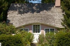 Casa de campo cor-de-rosa fotos de stock royalty free