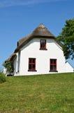 Casa de campo da fotografia, natureza rural ireland foto de stock royalty free