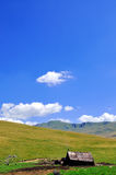 Casa de campo da montanha fotografia de stock royalty free