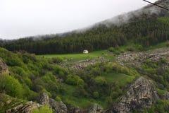 Casa de campo da montanha Fotos de Stock Royalty Free