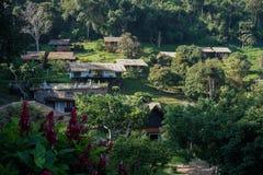 Casa de campo da montanha em Tailândia Fotos de Stock