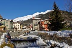 Casa de campo das montanhas Foto de Stock Royalty Free