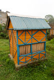 Casa de campo de bambu Fotos de Stock