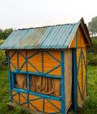 Casa de campo de bambu Imagem de Stock Royalty Free