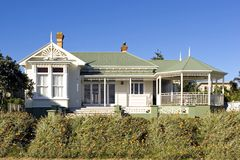 Casa de campo de Devonport Foto de Stock Royalty Free