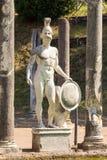 A casa de campo de Hadrian, a casa de campo do Roman Emperor ', Tivoli, fora de Roma, Itália, Europa Imagem de Stock
