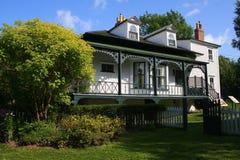 Casa de campo de Hawthorne Fotos de Stock Royalty Free