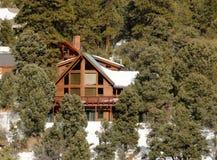 Casa de campo de la montaña Imagen de archivo