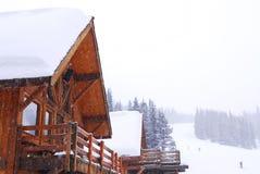 Casa de campo de la montaña Fotos de archivo libres de regalías