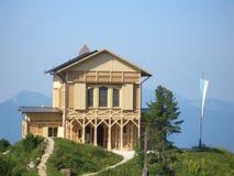 Casa de campo de la montaña Imágenes de archivo libres de regalías