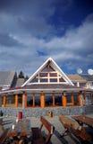 Casa de campo de la montaña foto de archivo