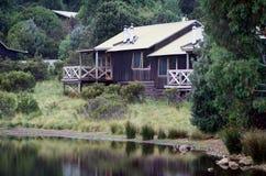 Casa de campo de la montaña de la cuna Foto de archivo