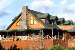 Casa de campo de la montaña de la cuna Imagen de archivo libre de regalías
