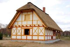 Casa de campo de madeira Fotografia de Stock