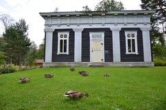 Casa de campo de madeira Fotografia de Stock Royalty Free