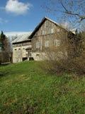 Casa de campo de madeira Imagem de Stock Royalty Free