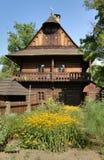 Casa de campo de madeira histórica Fotografia de Stock Royalty Free