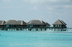 Casa de campo de Maldives fotografia de stock royalty free