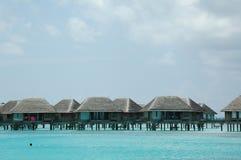Casa de campo de Maldives foto de stock