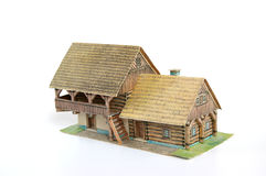 Casa de campo de papel Fotografia de Stock Royalty Free