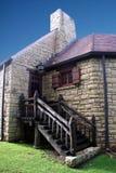Casa de campo de pedra Imagens de Stock
