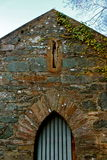 Casa de campo de pedra arruinada imagens de stock royalty free