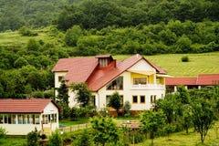 Casa de campo de Transylvanian fotos de stock
