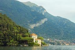 Casa de campo del Balbianello, lago Como, Lenno, província de Como, Itália Foto de Stock