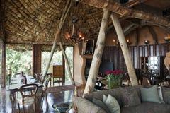 Casa de campo del cráter de Ngorongoro fotos de archivo libres de regalías