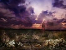 Casa de campo del diablo Fotografía de archivo libre de regalías