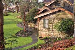 casa de campo del parque del filberg Imágenes de archivo libres de regalías