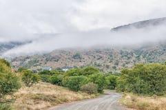 Casa de campo do convidado de Doornhoek no parque nacional de zebra de montanha Fotos de Stock