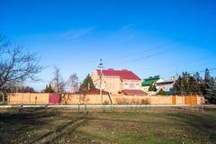 casa de campo do Dois-andar Foto de Stock Royalty Free