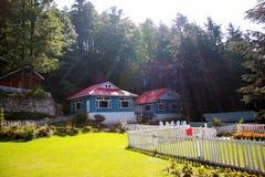 Casa de campo do feriado Imagens de Stock Royalty Free