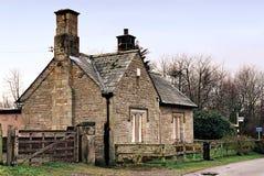 Casa de campo do país Fotos de Stock