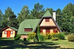 Casa de campo do país na natureza Fotografia de Stock Royalty Free