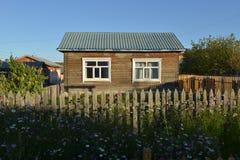 casa de campo do Russo-estilo Foto de Stock