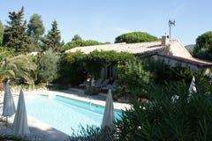 Casa de campo do St Tropez com associação Fotos de Stock Royalty Free