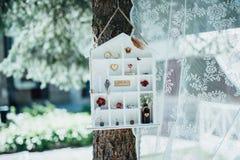 Casa de campo do vintage com decorações Imagens de Stock