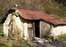 Casa de campo dos mineiros fotos de stock