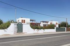 Casa de campo em Grécia, ilha do Rodes Fotografia de Stock