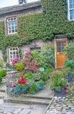 Casa de campo em vales de Yorkshire Fotos de Stock