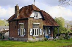Casa de campo en el Netherlan Fotos de archivo