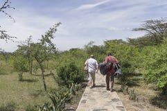 Casa de campo en Kenia Foto de archivo libre de regalías