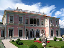 Casa de campo Ephrussi-Rothschild, franco fotografia de stock