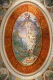 Casa de campo Farnese - sala dos sonhos Imagem de Stock