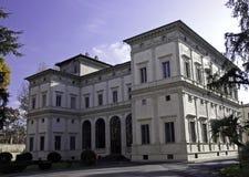 Casa de campo Farnesina do renascimento, Roma imagens de stock