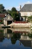 Casa de campo, Francia Imagen de archivo libre de regalías
